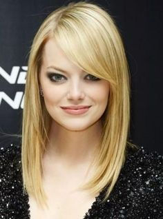 Emma Stone Hairstyles: Sassy Straight Haircut for Any Occasion