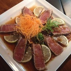 Tuna Tataki Friends Farkıyla- #sushi #suşi #tuna #tataki #best #restaurants #gurme #sunum #loveit by adanafriendscafe