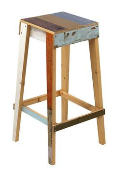 Bar stool by Piet Hein Eek.