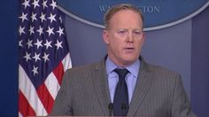 Spicer: 'No-one had numbers' for inauguration - BBC News