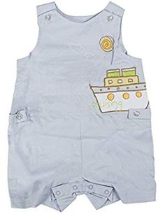 "Little Guys Boys ""Cruising"" Overall Set in Light Blue Size: Outfit Sets, Boy Fashion, Latest Fashion Trends, Overalls, Light Blue, Rompers, Guys, Link, Stuff To Buy"
