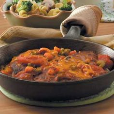 Oven Swiss Steak. I have made this recipe since I was 12 years old. It was a hit than and a hit 40 years later. I bake mine for 2 hours.