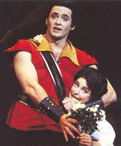 Hugh Jackman as Gaston! Is this Broadway???
