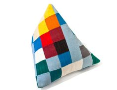 LOLA Cushion   Cool shape, perfect for laying on the floor watching TV.