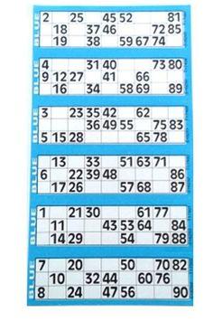 Large print bingo cards printable