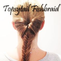 The Topsy Tail fishbraid by Scunci