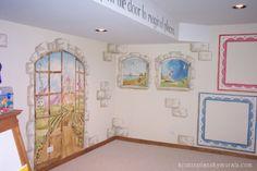 Kristin Plansky Murals | Imagination Playroom