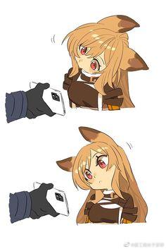 Anime Neko, Chica Gato Neko Anime, Manga Anime, Cute Anime Pics, Anime Girl Cute, Kawaii Anime Girl, Anime Art Girl, Anime Comics, Hilarious Pictures