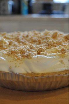 Best pie ever....Mrs. Salter's Peanut Butter #Pie #Recipe - The Ultimate #Dessert
