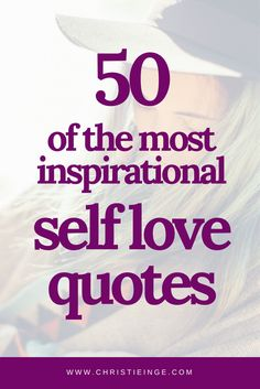self love quotes | self acceptance | love yourself | be happy with yourself | self confidence via @christieinge
