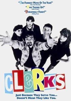 Clerks. #movies #movieart http://www.pinterest.com/TheHitman14/movie-posters-art-%2B/