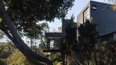 Jeff Svitak builds blackened Redwood House with private studio for himself in Southern California Amazing Architecture, Southern California, Outdoor Spaces, San Diego, Exterior, Studio, City, Building, Photography