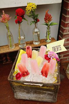 Beat the Heat: Pretty Popsicles