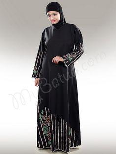 Ziyan Abaya!   Style No: Ay-180   Shopping Link  : http://www.mybatua.com/ziyan-abaya-482   Available Sizes XS to 7XL (size chart: http://www.mybatua.com/size-chart/#ABAYA/JILBAB)