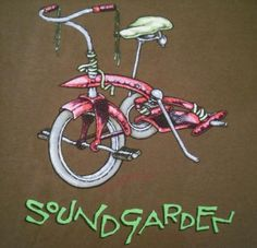 This Soundgarden 1994 Pushead come stand me up Vintage T-shirt was to promote the SUPERUNKNOWN album.