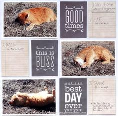 Best Day Ever Pocket Page Layout | popperandmimi.com