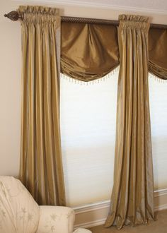 relaxed roman shade pattern - Google Search