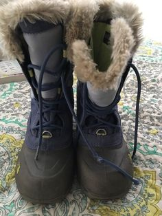003659d91555 The North Face Kids Boots Girls Shellista Lace-Up Boots US 2  fashion