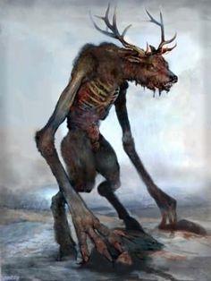 Mythical Creatures Art, Mythological Creatures, Fantasy Creatures, Dark Creatures, Dark Fantasy Art, Monster Design, Monster Art, Arte Horror, Horror Art