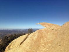 Brian and Ashley's Hiking Blog!: Potato Chip Rock Hike (Mt. Woodson)