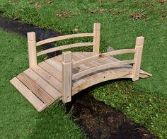 perfect little Cedar Garden Bridge  125