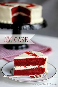 Pullahiiren leivontanurkka: Red velvet cake - punaista samettia