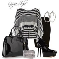 Day to Night by orysa on Polyvore