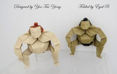 Amazing Origami Models from Japanese Culture and Mythology Origami Mouse, Origami Yoda, Origami Star Box, Money Origami, Origami Dragon, Origami Fish, Origami Stars, Oragami, Origami Instructions
