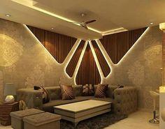 Guddu Shukla Source by ayekly House Ceiling Design, Ceiling Design Living Room, Bedroom False Ceiling Design, Bedroom Bed Design, Living Room Designs, Bedroom Corner, Master Bedroom, Sofa Design, Flur Design