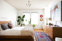 Sara & Rich's Colorful, Calm & Sunny California Haven — House Tour @apttherapy