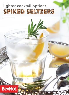 If sparkling water is your drink of choice, check out these Spiked Seltzers from BevMo! As a lighter cocktail options, these fruity favorites are sure to make an appearance at your next party.
