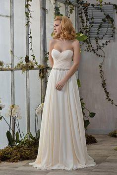 Wedding Dress Hochzeitskleid Brautkleid VIVIEN champagner