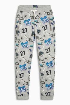 Buy Grey All Over Print Joggers (3-16yrs) online today at Next: Hungary