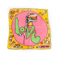 Silk Scarf, Peter Max, 1960s | Highlights from The Children's Museum of Indianapolis textile collection, as featured in the What's Your Style? online gallery.