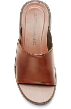 Cole Haan 2.ZeroGrand Slide Sandal (Men) | Nordstrom Slide Sandals, Men's Sandals, Warm Weather, Cole Haan, Wardrobe Staples, Heeled Mules, Nordstrom, Mens Fashion, Heels