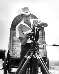 James Dean behind the camera