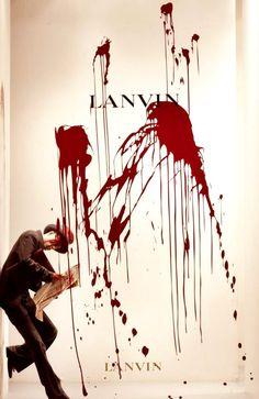 Lanvin - Fashion Window Display - Visual Merchandising - Lindsay Adler's Pinspiration Contest #lapinspirationcontest #fashion