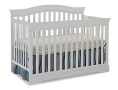 Broyhill Kids Bowen Heights 4-in-1 Convertible Crib White