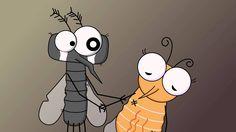 "2D animated film ""Dreamy Mosquitos"" do MAMstudiovn thực hiện. (www.mamstudio.vn) #MAMstudiovn #2Danimation #mosquitoe #motiongraphic #film"