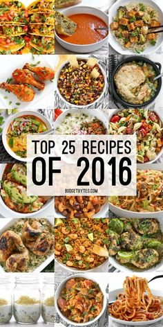 The Top 25 Recipes of 2016 from Budget Bytes all in one easy to browse post. It's the most delicious, satisfying, and inexpensive eats of 2016. // @budgetbytes