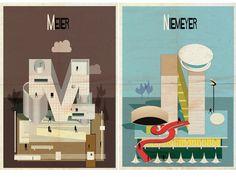 Archibet: o alfabeto da arquitetura | Frederico Babina #niemeyer #meier #architecture