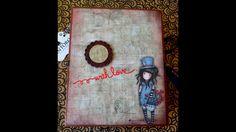 Tutorial : Rilegatura  #5/  Album Gorjuss Santoro/ Scrapbook 16,5x20,5cm...