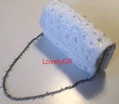 Women Crochet Shoulder Bag Macrame Cordon White Color Bags&Purses Handbag