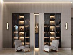 Shelving Design, Shelf Design, Cabinet Design, Wall Design, House Design, Office Interior Design, Luxury Interior, Interior Decorating, Niche Design