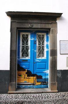 Door, Funchal Madeira