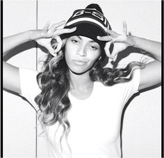 Beyonce     Imagery: Double A-ok 666 hand signs