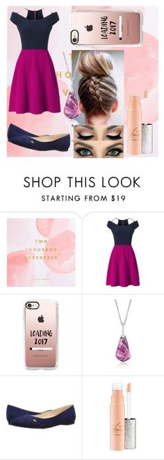 """Happy 2017"" by kyky204 ❤ liked on Polyvore featuring Thrive, Roland Mouret, Casetify, Swarovski and Nine West"