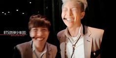 J-Hope and Rap Monster