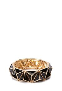 Pyramid Faceted Stretch Bracelet