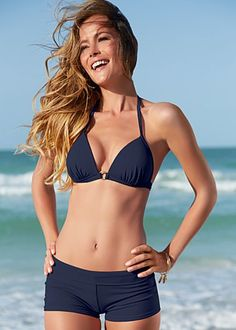 {Venus Swimwear   Enhancer triangle top + hot short bottom}